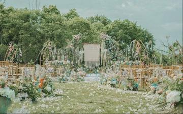 【草坪婚礼】小型婚礼之选-田园风格婚礼