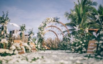 【W.E wedding] 微风细语户外婚礼